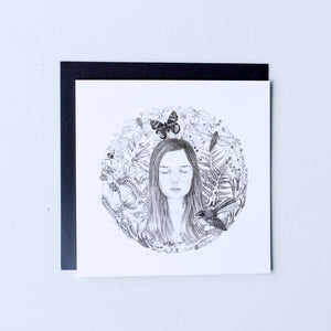 Daughter Mandala | Blank Card
