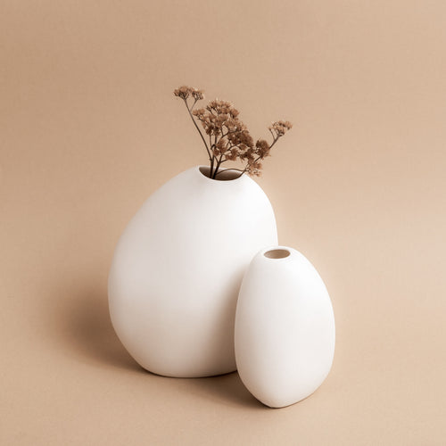 Harmie Vase | White | Ned Collections