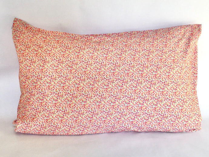 Pillowcase handmade from silky soft  cotton knit.