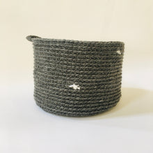 Load image into Gallery viewer, crocheted baskets perfect for storing your special treasures.  Ideal as a plant holder too!  So many colours available.