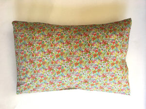 Pillow case handmade from silky soft Liberty of London Lawn 100% cotton.