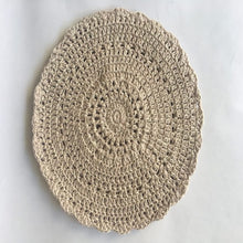 Load image into Gallery viewer, Hand crocheted cotton place mats.