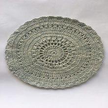 Load image into Gallery viewer, Hand crocheted cotton place mats