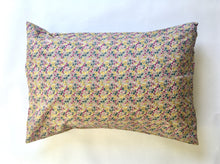 Load image into Gallery viewer, Pillow case handmade from silky soft Liberty of London Lawn 100% cotton.