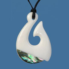 Bone Fish Hook Pendant