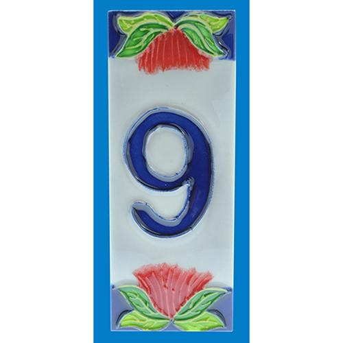 Ceramic Tile Number 9