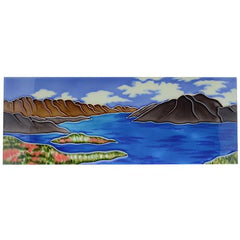 Lake Wakatipu Ceramic Tile