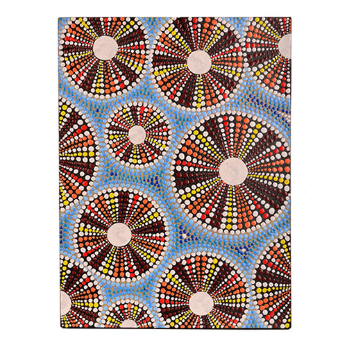 Canvas Brown Kina Wall Art