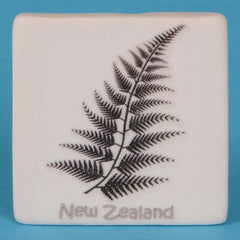 Ceramic Fern Fridge Magnet