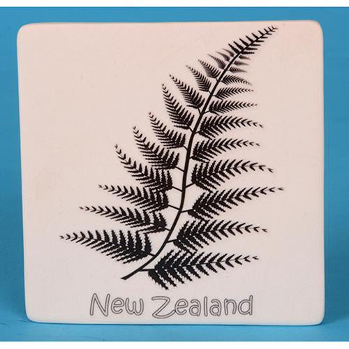 Ceramic Fern Wall Tile