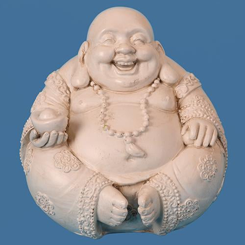 Poly resin Laughing Buddha
