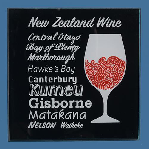 NZ Wine Coaster Set