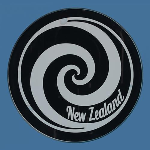 Glass Koru Coaster Set