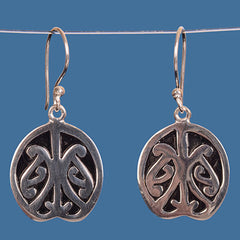Maori design earrings. SBE002
