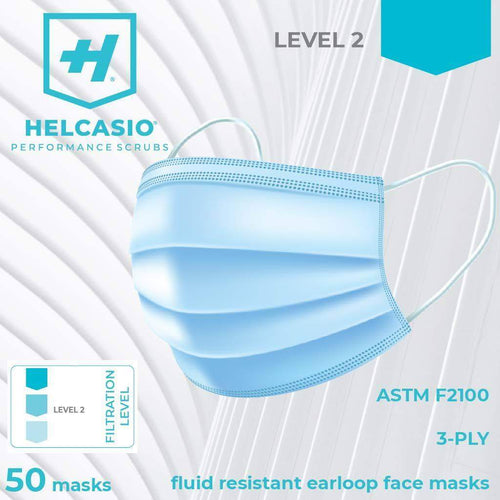 Helcasio Disposable Face Mask - 50 piece box - Helcasio