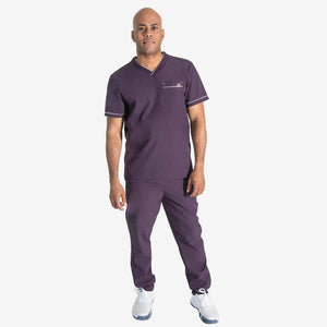 "Viggo ""V"" Men's V-Neck Scrub Top"