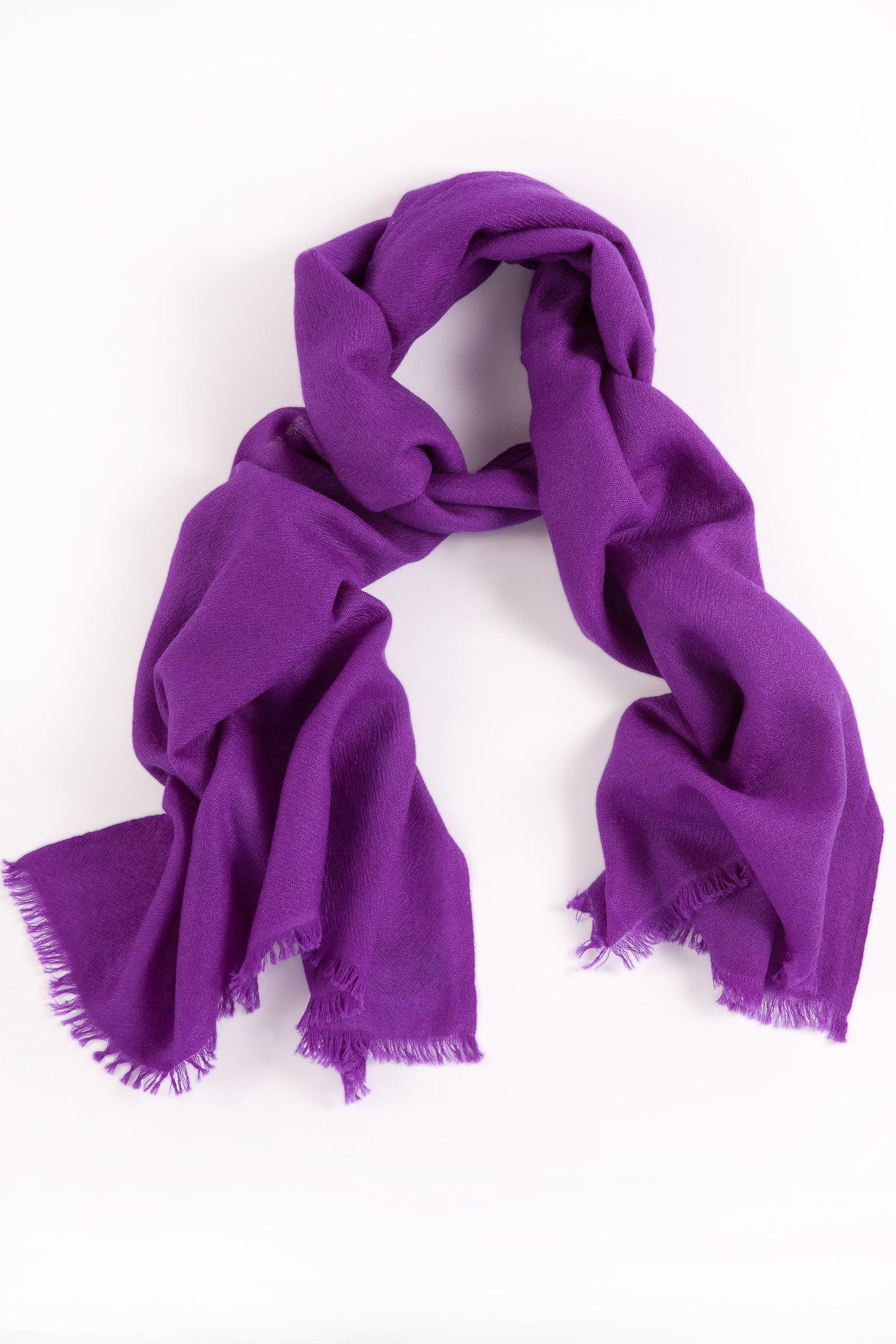 2fd7f7566 Royal Purple 70% Cashmere 30% Silk Shawl for Women - David Venn