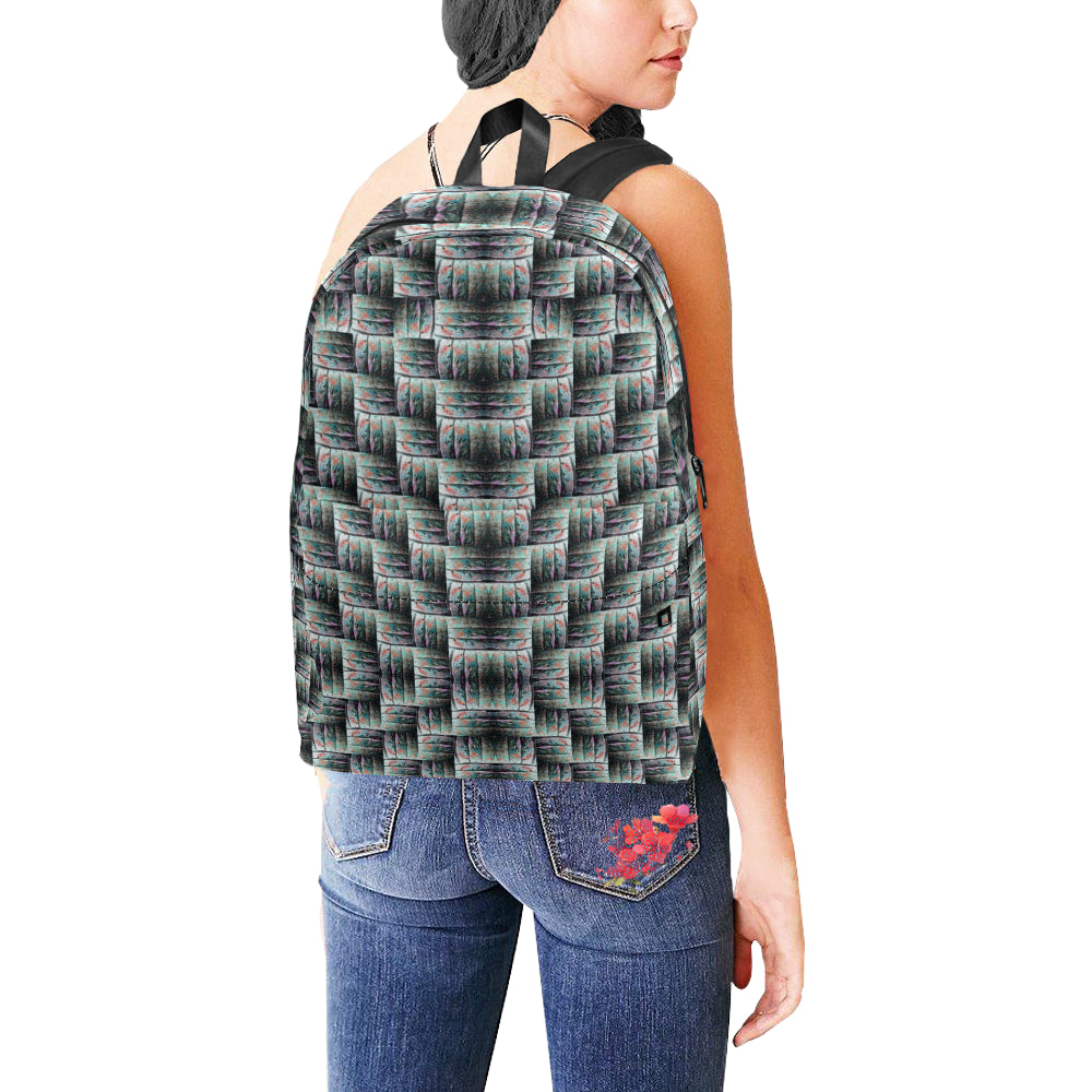 Unisex Nylon Backpacks by ChuArts