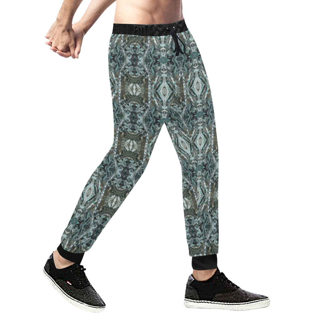 THE STORY OF MONEY 4-4 Unisex Casual Sweatpants (Large Size) (Model L11)