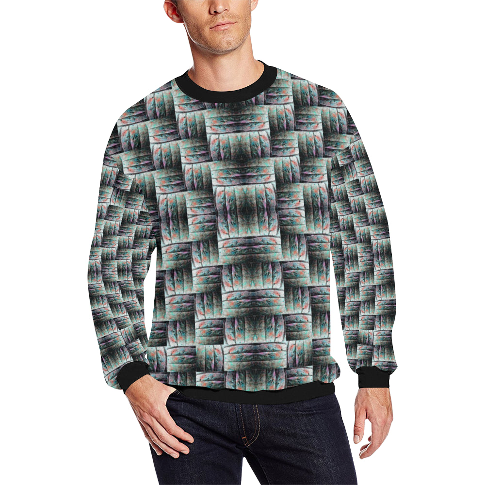ChuArts Men's All Over Print Sweatshirt