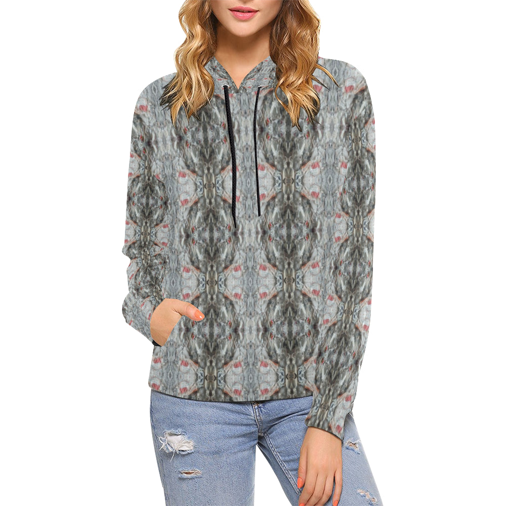 ChuArts Women All Over Print Hoodie