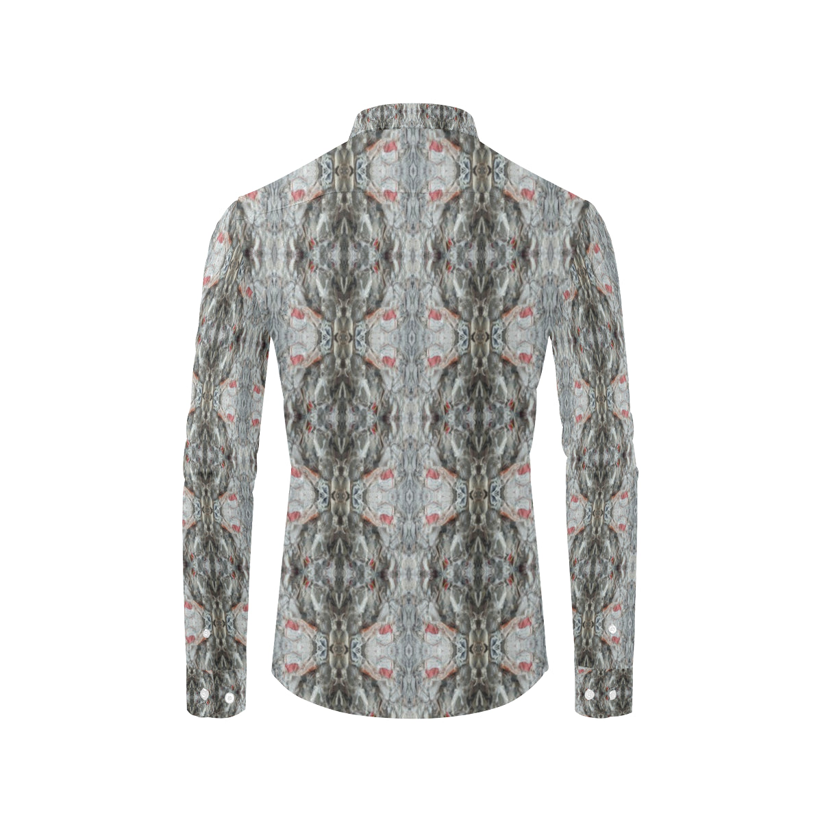 ChuArts Men's All Over Print Long Sleeve Shirt