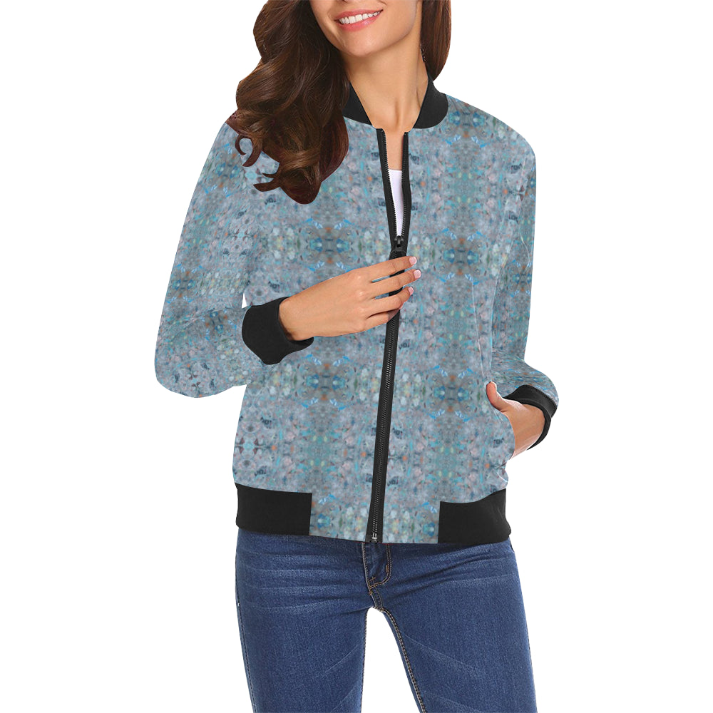 ChuArts Women All Over Print Casual Jacket (Model H19)