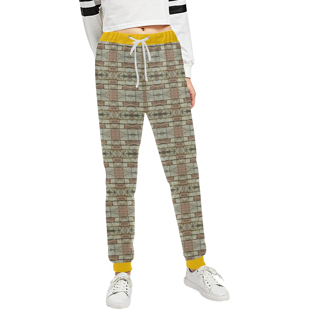 ChuArts rock 4B F Unisex Casual Sweatpants (Model L11)