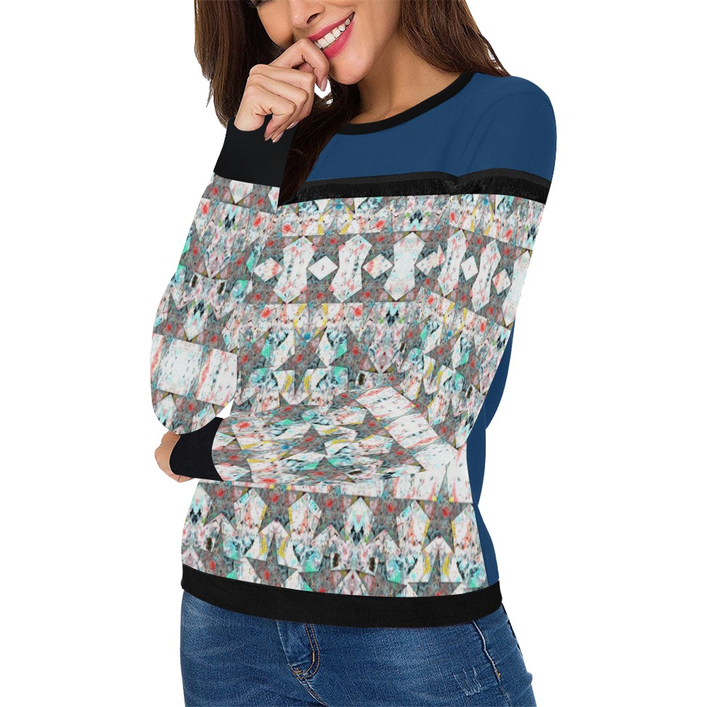 Fringe Pullover Sweatshirts By ChuArts