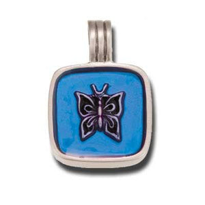 Bico Australia Jewelry - (B15) Papillion Pendant - Metamorphosis Beauty And Clarity - Comes With A Generic Black Rubber Necklace