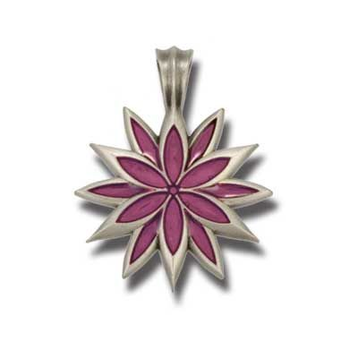 Bico Australia Jewelry - (B220) Lilac Pendant - Living Life With Flair And Brilliance