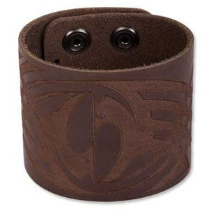 Bico Australia Jewelry - Leather  (BWB3) - 8.75 Inch Length, 2 Inch Wide