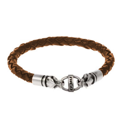 Bico Australia Jewelry - (CA15), Braided s Braided s Are Available Brown Leather