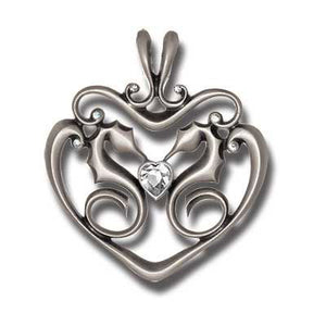 Bico Australia Jewelry - (CR52) - Stubborn Heart - Guarded Heart, Stubborn In Love