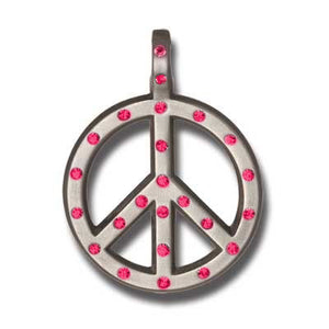 Bico Australia Jewelry - (CR62) - Peace Crystal - Love Not War