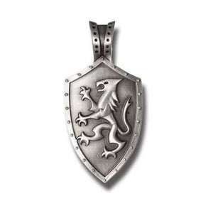 Bico Australia Jewelry - (E320) - Knights Shield
