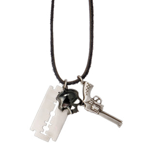 Bico Australia Jewelry - (MX10) Officer Cut Skull