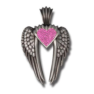 Bico Australia Jewelry - (PV7) -wings Of Uriel Pendant, Love Is My Destiny You Are My Fate