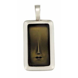 Bico Australia Jewelry - (B68) Visage 3 - A Small Hinted Face Of Wisdom