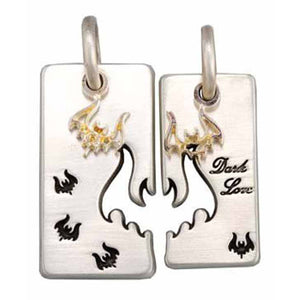 Bico Australia Jewelry - (BP4) Dark Love - Passionate & Immortal Affection Hidden Devotion