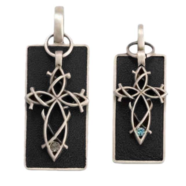 Bico Australia Jewelry - (BP8) Cross Tags - To Choose Your Faith Within Each Other