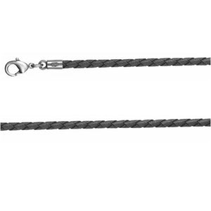 Bico Australia Jewelry -  (CL14), Braided 4mm Choker