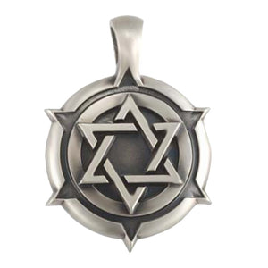 Bico Australia Jewelry - (E192) Star Of David Shield
