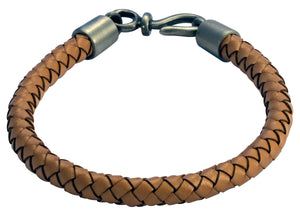 Bico Raw BOLO Natural Leather Bracelet (FB402NA)