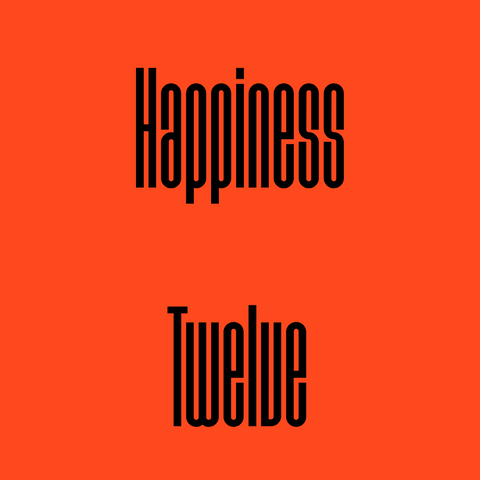Happiness Twelve - The Beer Effect