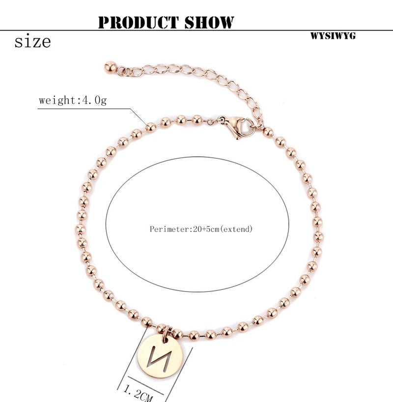 A-Z Initial Anklet