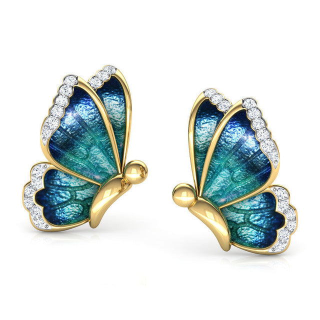 Smooth Butterfly Earrings