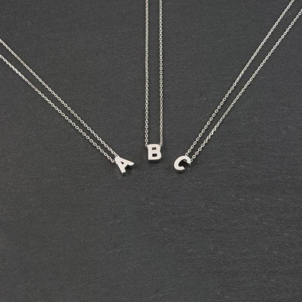 Custom Alphabet Necklace