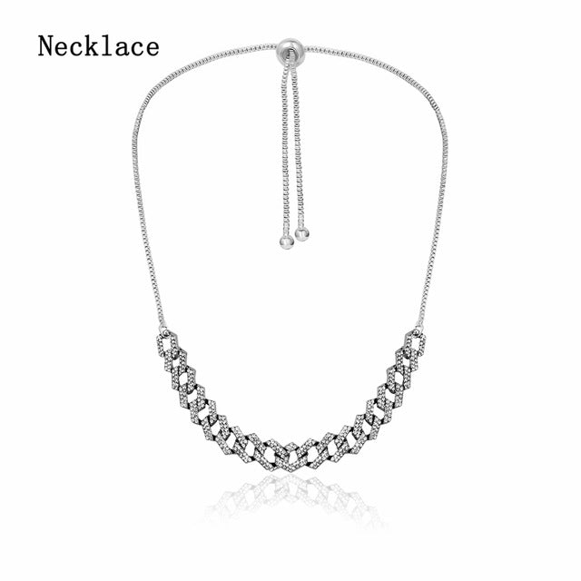 Rhinestone Crystal Necklace