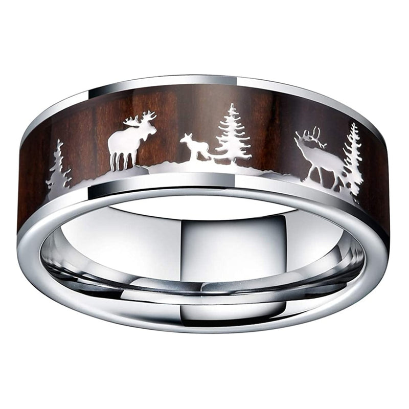 Reindeer Christmas Ring